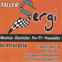 Taller Sergi